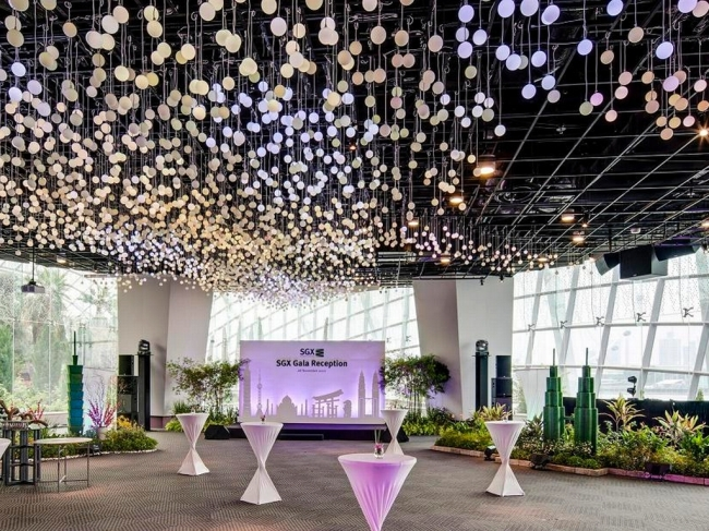 wedding flower packages singapore top wedding venues in singapore you must want to get - Garden By The Bay Flower Field Hall