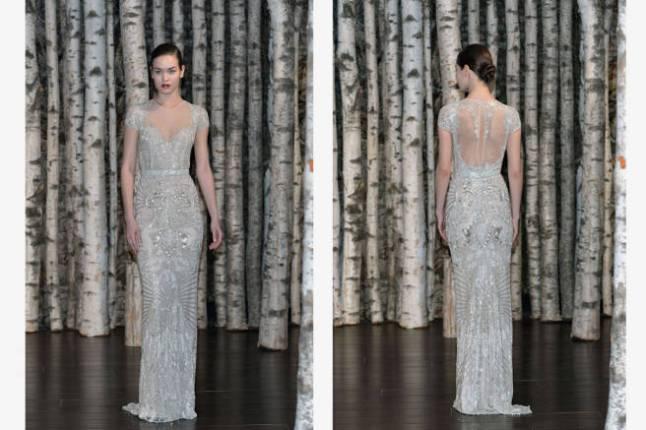 Naeem Kahn spring 2015 bridal collection