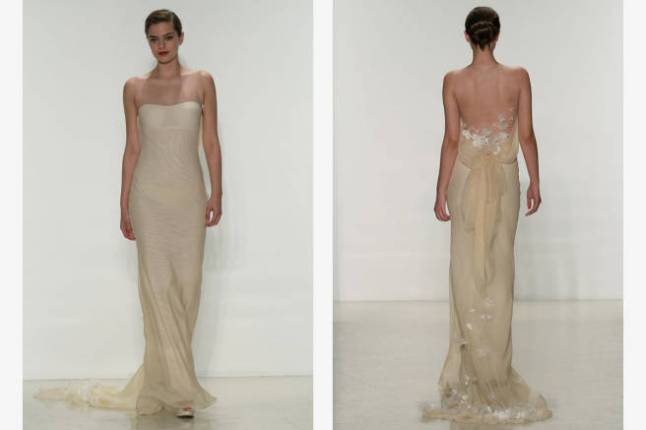 Amsale spring 2015 bridal collection