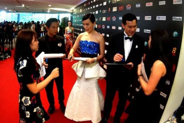 Rebecca Lim, a stunning Giambattista Valli gown