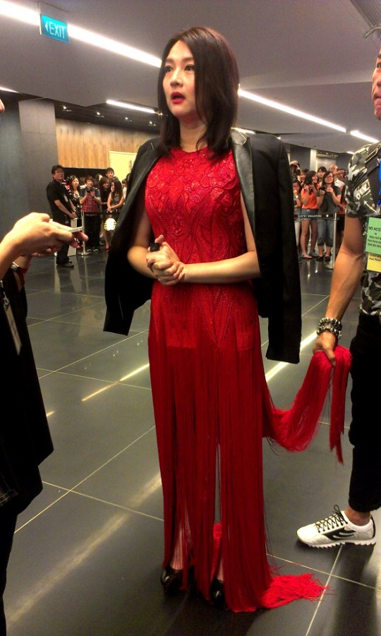Chen Liping wears a flapper dress