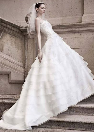 A-Line/Princess Wedding Dress